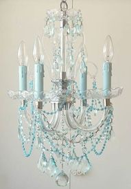 Chandilier...for the dressing room