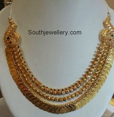 Kasulaperu latest jewelry designs - Page 33 of 46 - Indian Jewellery Designs Gold Earrings Designs, Gold Jewellery Design, Necklace Designs, Gold Designs, Antique Jewellery, Silver Jewellery, Gold Jewelry Simple, Pandora, Schmuck Design