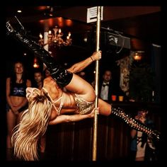 Pole Picture of the Day: Maddie Sparkle ( Pole Dance Academy)