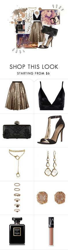 """""""Her voice is money."""" by brook-s18 ❤ liked on Polyvore featuring Hansen, Marc Jacobs, Boohoo, Alexander McQueen, Via Spiga, Ippolita, Forever 21, Chanel, NARS Cosmetics and MAC Cosmetics"""