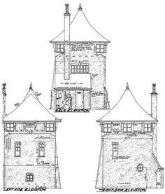 Romantic Carriage House Plan - 11601GC | Carriage, European, Exclusive, 2nd Floor Master Suite | Architectural Designs