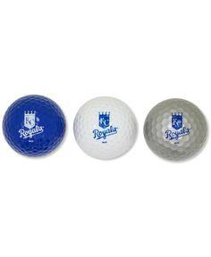 Team Golf Kansas City Royals 3-Pack Golf Ball Set