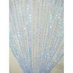 3' x 6' Foot Beaded Curtain Panels - Iridescent Blue Diamond Cut Beaded Curtains [ZPC10AB-BLUZ Beaded Door Curtain] : Wholesale Wedding Supplies, Discount Wedding Favors, Party Favors, and Bulk Event Supplies