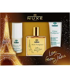 Nuxe Love From Paris Holiday Set - Gift Idea for the Beauty Obsessed: Lovely Holiday Gift Sets from @Teresa Mitchell! - StorybookApothecary.com #gifts #giftideas #holiday #christmas #beauty #skincare #makeup #nails #spa #luxury #luxe #bbloggers