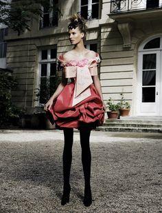 Christian Lacroix Haute Couture Fall 2008 | Mario Sierra