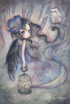 Juri Ueda Watercolor