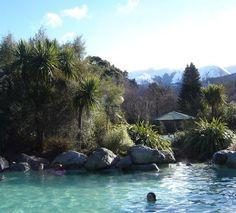 Hanmer Springs...hot springs in South Island of New Zealand. Loved it!