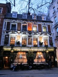 The Sherlock Holmes Pub  London  Yes, I will be going here one day just to look, not to drink.