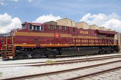 3455-1 Norfolk Southern Locomotive in Pennsylvania Railroad Heritage Paint. Railroad Museum of Pennsylvania, Strasburg http://rrmuseumpa.org