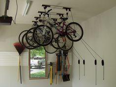Bike Storage | Garage Storage Solutions / Ceiling Storage Solutions