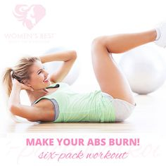 Make your abs burn with this workout! #womensblog