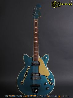 Fender Coronado II 1967 Lake Placid Blue. Nothing better than a '60s Fender in Lake Placid Blue, especially one of these.