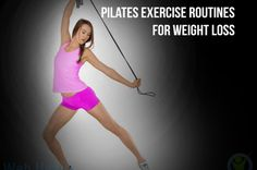 Pilates exercise routines for weight loss