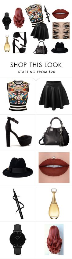"""""""Early Spring"""" by marisa-heine ❤ liked on Polyvore featuring Givenchy, LE3NO, Vince Camuto, Gucci, Christian Dior and CLUSE"""