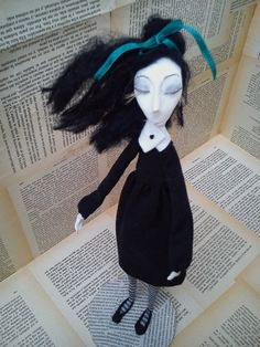 ART doll, OOAK doll,HANDMADE doll, Vintage, Collectible doll