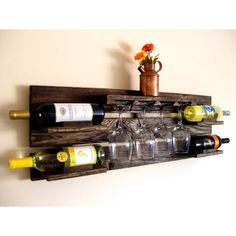 Wine Rack DIY Projects - The Cottage Market