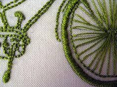 green tandem - a closer look
