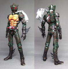 Customized SIC Thread - Page 5 - HOBBYHYPE Kamen Rider Toys, Kamen Rider Decade, Gundam Toys, Robot Cartoon, Japanese Robot, Japanese Superheroes, Sci Fi Armor, Art Folder, Space Wolves