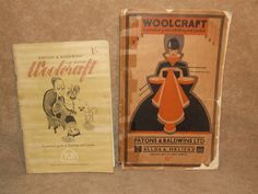 Patons & Bladwins Woolcraft Books x 2 Practical Guide to knitting Plus New Ed