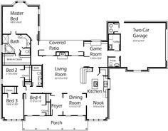 Korel plan. Needs minor tweaks to hall bath and garage entry, but I like this general layout