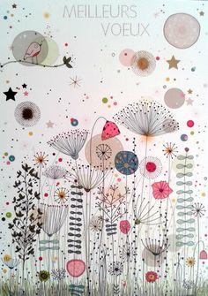 Watercolor Art Lessons, Pen And Watercolor, Abstract Watercolor, Watercolor Illustration, Watercolor Paintings, Art Zen, Art Fantaisiste, Doodle Drawings, Doodle Art