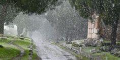 Appia Antica - Nevicata del 2010