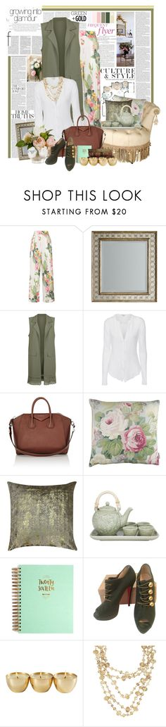 """Home Truths"" by summersunshinesk7 ❤ liked on Polyvore featuring Unis, Matthew Williamson, Hooker Furniture, Cameo Rose, James Perse, Givenchy, SANDERSON, NOVICA, 1canoe2 and Christian Louboutin"