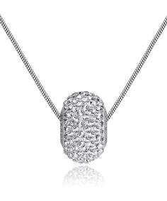 Take a look at this Crystal SWAROVSKI ELEMENTS & Silver City Lights Pendant Necklace by MESTIGE on #zulily today!
