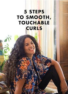 5 Steps to Smooth, Touchable Curls
