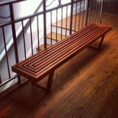 Modern Craftsman Bench Craftsman Benches, Modern Craftsman, Table Furniture, Outdoor Furniture, Outdoor Decor, Modern Bench, Wood Patterns, Old Houses, Dining Bench
