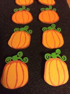 A personal favorite from my Etsy shop https://www.etsy.com/listing/484533423/wooden-pumkin-seasonal-earrings