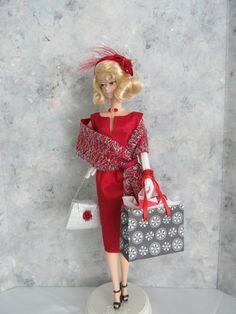 "OOAK Handmade Barbie/Silkstone ""Ravishing in Ruby"" by Ann"