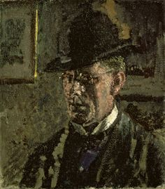Walter Richard Sickert 'The Juvenile Lead (Self-Portrait)' 1907.  According to novelist Patricia Cornwell, this is the face of Jack the Ripper.
