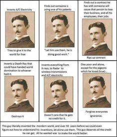 Nicola Tesla - importance! Nicola Tesla, Cs Lewis Quotes, Quotes Quotes, What Happened To Us, Smart Men, Albert Einstein Quotes, Historical Quotes, Celebration Quotes, Earth Science