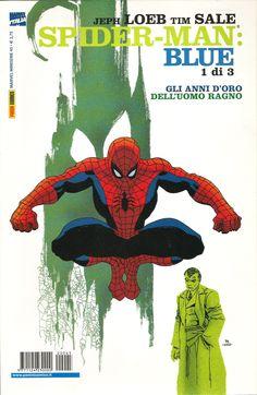 """Tim Sale (disegni) & Jeph Loeb (storia) """"Spiderman Blue, 1 di 3"""" - Marvel Italia, dicembre 2002"""