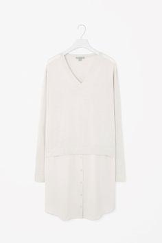 Silk skirt dress
