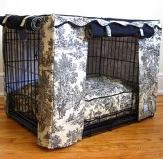 "For when ""mommy"" & ""daddy"" needs privacy from the pups! (although it might be easier to just throw a blanket on top LoL!"