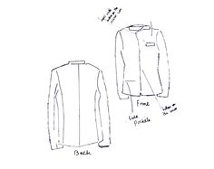 Line, Production Drawing of my Final Design - Menswear Suit - Rich and Poor - Black and White Liberty, Competition, Menswear, Suits, Black And White, Drawing, Fashion Design, Political Freedom, Black N White