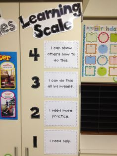 Learning Scale. Use colored numbers to match what the kids have at the table.