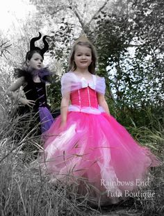 Princess Aurora, Sleeping Beauty, Maleficent Tutu Dress size 12-18m, 18-24m, 2t…