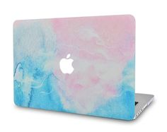 KEC Marble Macbook Case in various color for Macbook Air & Pro 15 inch. Protect your Macbook with stylish marble Macbook plastic hard shell cover. Macbook Keyboard Stickers, Laptop Case Macbook, New Macbook Air, Macbook Skin, Laptop Cases, Marble Macbook Case, Marble Case, Apple Laptop, Pink Blue
