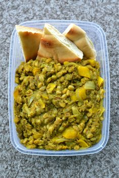 """My method of cooking any weeknight meal is the """"dump and done"""" method. Simply dump all ingredients into a pot, turn on the stove to a boil, allow it to simmer, and voila! A hearty lentil curry is waiting for you in the kitchen. This golden lentil stew recipe is part of Week 1 of...Read More »"""
