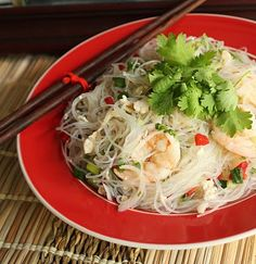 glass noodle salad. my favorite.