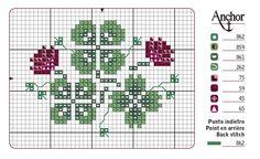St Patrick's Cross, Cross Stitch Christmas Ornaments, Back Stitch, Cross Stitch Patterns, Needlework, Bee, Irish, Easter, Chart
