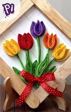 Step By Step Guide On How To Make Paper Quilling Flowers – Quilling Techniques Paper Quilling Cards, Paper Quilling Flowers, Paper Quilling Patterns, Quilled Paper Art, Felt Flowers, Quilling Jewelry, Quilling Craft, Craft Stick Crafts, Paper Crafts