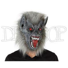 Máscara De Lobo Gris - Dresoop.es
