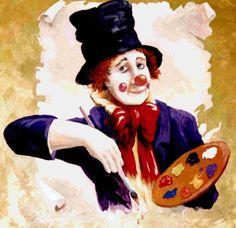 deals clowns wildlife land seascapes paint pot series funny stuff ...