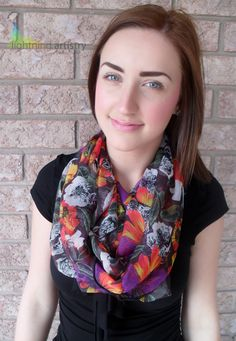 Spring 2013    https://www.etsy.com/listing/127966693/infinity-scarf-multi-coloured-floral?ref=shop_home_feat