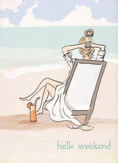 ❤️weekends relaxing ..beach moments