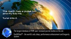 The Earth has a pulse too and it's 9.6 Hz!http://sonictantra.com/harmony-with-frequency-of-nature/ #432hz #resonanceproject